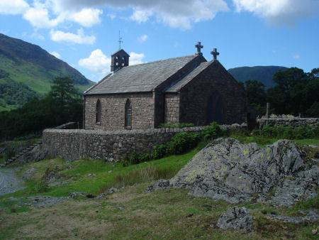 St James Church Buttermere Village