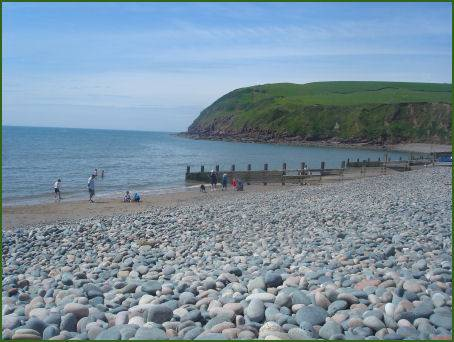 Beach at St Bees