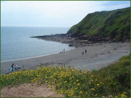 Beach at St. Bees