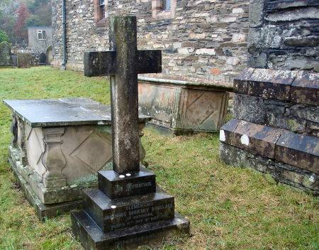 Finsthwaite churchyard, the grave of the Cumbrian Princess