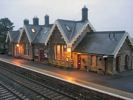 Kirkby Stephen Station Settle-Carlisle Railway