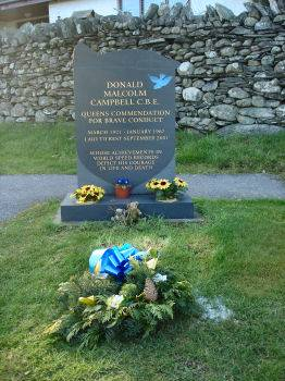Donald Campbell's grave